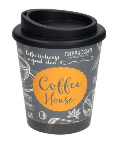 Vielfältige Gestaltungsmöglichkeiten bei diesem Kaffeebecher